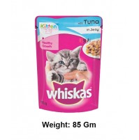 Whiskas Kitten Treat With Tuna In Jelly Gravy Pouch 85 Gm