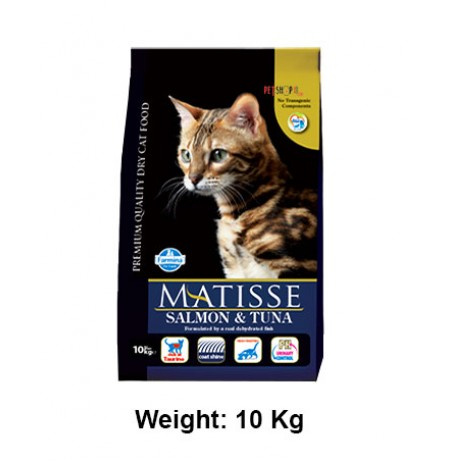 Natural And Delicious Matisse Cat Food Salmon And Tuna Flavored 10 Kg