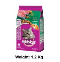 Whiskas Cat Food Salmon Pockets Tuna Flavour 1.2kg