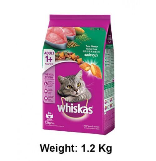 Whiskas Cat Food Salmon Pockets Tuna Flavour 1.2kg