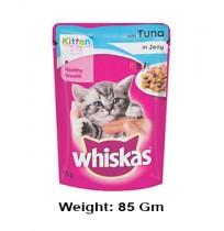 Whiskas Kitten Food Tuna Gravy Pouch 85gm