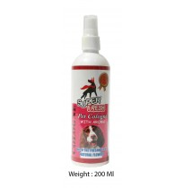 Super Fresh Pet Cologne With Aroma 200 Ml