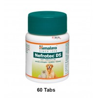 Himalaya Dog Supplements Nefrotec DS 60 Tablets
