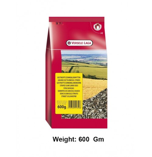 Versele Laga Striped Sunflower Seed 600 Gm