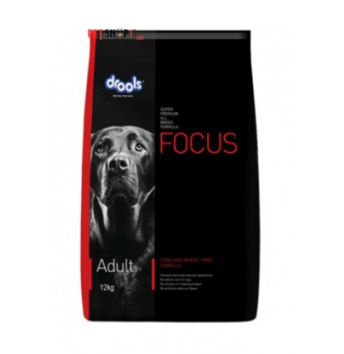 Drools Focus Adult Dog Food 12 Kg Petshop18.com
