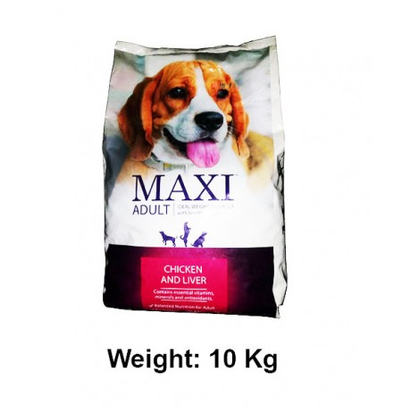 Drools Dog Food Chicken And Liver Maxi Adult 10 Kg