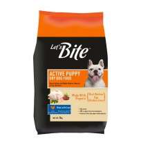 Lets Bite Active Puppy Food Chicken And Egg 3 Kg