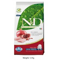 ND Chicken And Pomegranate Grain Free Puppy Maxi Food 12 Kg