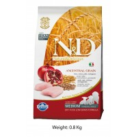 ND Chicken And Pomegranate Puppy Medium Food 800 Gm