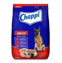 Chappi Adult Dog Food Chicken And Rice 8 Kg