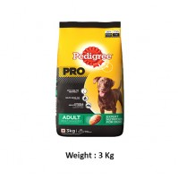 Pedigree Pro Adult Dog Food Weight Management 3 Kg