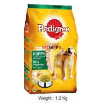 Pedigree Puppy Food Milk And Vegetables 1.2 Kg