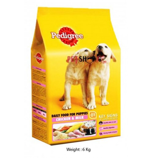 Pedigree Puppy Chicken And Milk 6 Kg