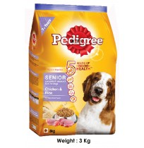 Pedigree Dog Food Senior Chicken And Rice 3 Kg
