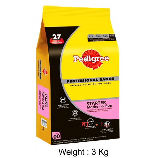 Pedigree Starter Mother And Puppy Food 3 Kg
