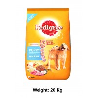 Pedigree Puppy Food Meat And Milk 20 Kg