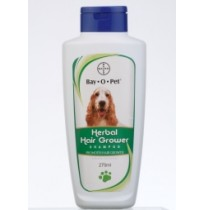 Bayer Dog Grooming Bay O Pet Herbal Hair Grower Shampoo 275 ml