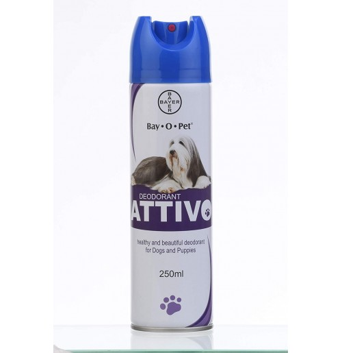 Bayer Dog Grooming Bay O Pet Attivo Deodorant 250 ml