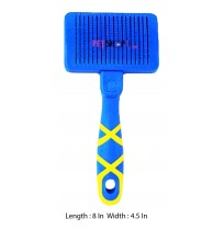 Hellopet Self Cleaning Slicker Dog Brush Large