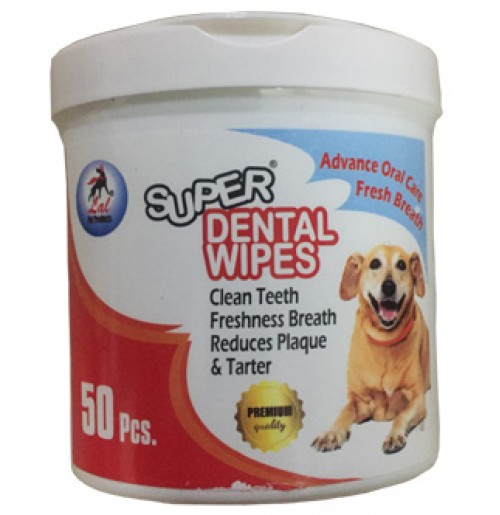 Super Dental Wipes 50 Pcs.