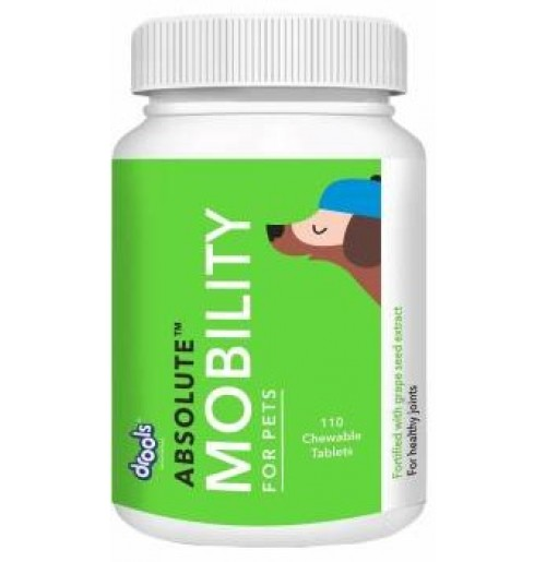 Drools Dog Supplement Absolute Mobility 110 Chewable Tablets