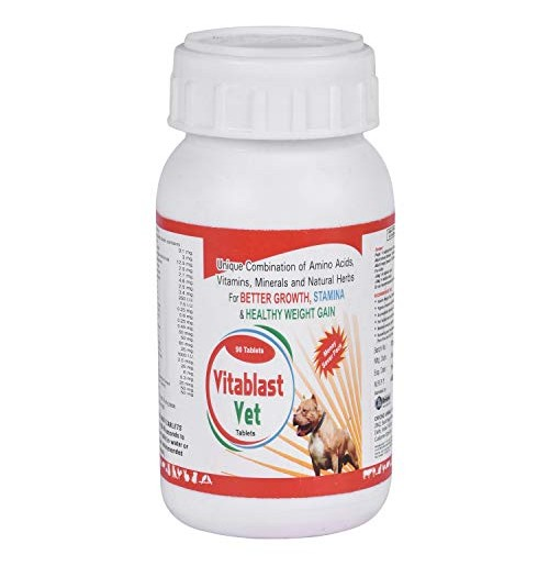 Vitablast Dog Supplement Vet Tablet 90 Tablets