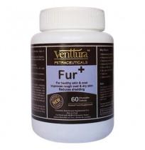Venttura Dog Supplement Fur Plus 60 Chewable Tablet