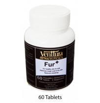 Venttura Dog Supplements Fur Plus 60 Chew Tablets