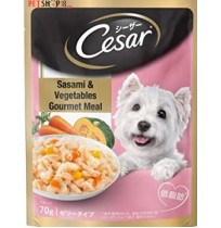 Cesar Adult Sasami & Vegetables Gourmet Meal 70 Gm