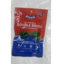 Drools Dog Treat All Natural Double Brush 20 Gm