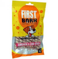 First Bark Dog Treat Chicken And Cod Stick 70 Gm