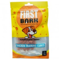 First Bark Dog Treat Chicken Training Cubes 70 Gm