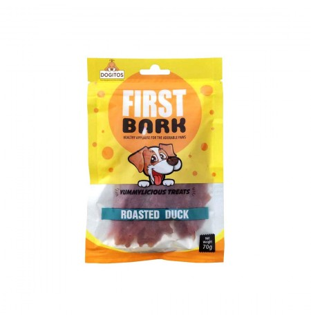 First Bark Dog Treat Roasted Duck 70 Gm
