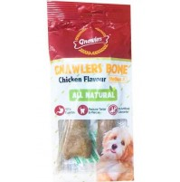 Gnawlers Chicken Bone 4.5 Inch 2 Pieces