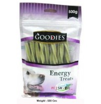 Goodies Energy Dog Treats Chlorophyll Flavored Sticks 500 Gm