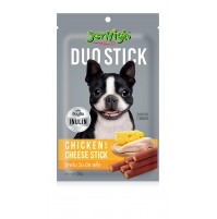 Jerhigh Dog Treat Duo Stick Chicken With Cheese 50 Gm