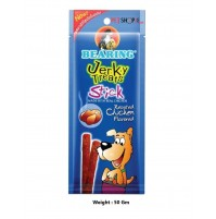 Bearing Dog Treats Jerky Stick Roasted Chicken 50 Gm