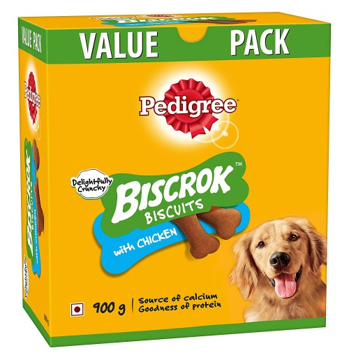 Pedigree Biscrok Biscuits Chicken 900 Gm