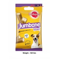 Pedigree Dog Treats Jumbone Mini Chicken And Lamb 160 Gm