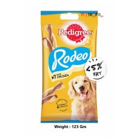Pedigree Dog Treats Rodeo Duos Chicken Flavour 123 Gm