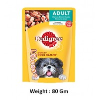 Pedigree Adult Chicken And Liver Chunks In Gravy 70 Gm
