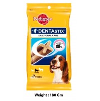 Pedigree Dentastix Daily Oral Care 7 Sticks Medium 180Gm