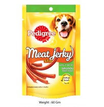 Pedigree Meat Jerky Stix Bacon Flavored 60Gm