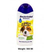BBN Bactercidal Dog Shampoo All Natural Lemon 500 Ml