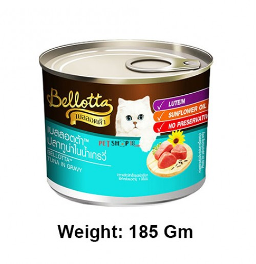 Bellotta Cat Treat Tuna In Gravy 185 Gm