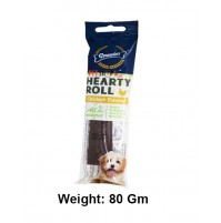 Gnawlers Dog Treats Hearty Roll Chicken Flavour 10 Inch 80 Gm