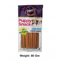 Gnawlers Dog Treats Puppy Snack Cheese Stick 80 Gm