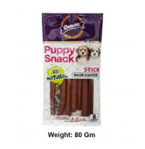 Gnawlers Dog Treats Puppy Snack Bacon Stick 80 Gm