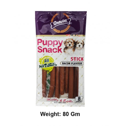 Gnawlers Dog Treats Puppy Snack Stick 80 Gm