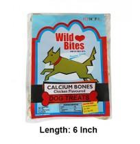 Wild Bites Dog Treats Bone 6 Inch 4 In 1